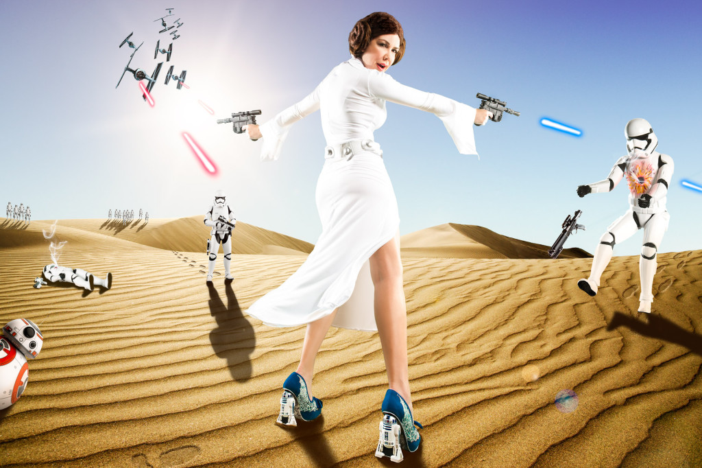 ©James Woodley Photography - www.james-woodley.com - Shireen Sandoval - Irregular Choice - Star Wars